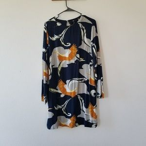 H&M crane dress size 10